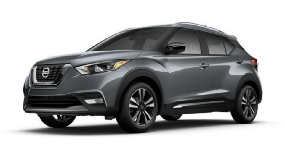 2020 Nissan Kicks in Gun Metallic